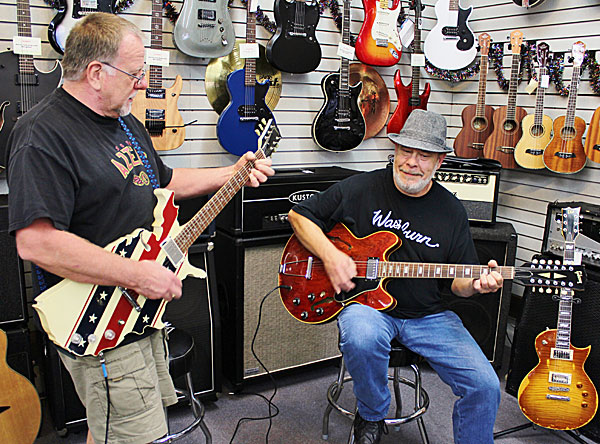 About Dusty's Guitars