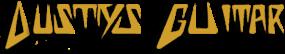Dusty's Guitars Logo